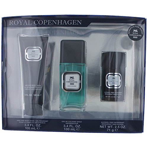 Royal Copenhagen Gift Set - Royal Copenhagen 3 Piece Gift Set for Men