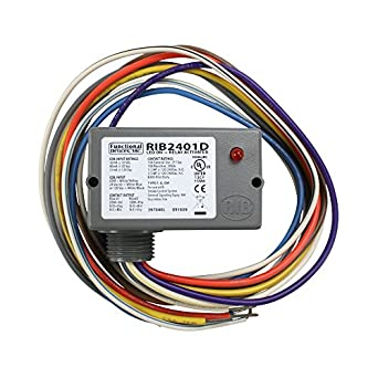 Rib2401d Wiring Diagram Free Download Oasisdlco. Functional Devices Rib2401d Enclosed Pilot Relay 10 Dpdt With Wiring Lighted Doorbell Button At. Wiring. Rib 2401b Wiring Diagram At Scoala.co