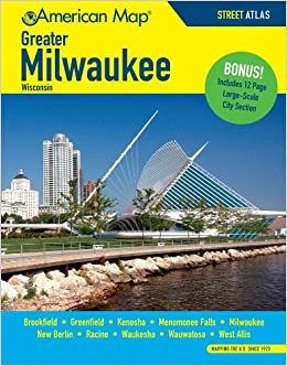 ?EXCLUSIVE? Milwaukee WI Greater Atlas (American Map). Daniel offers Florida Estate Motors parada
