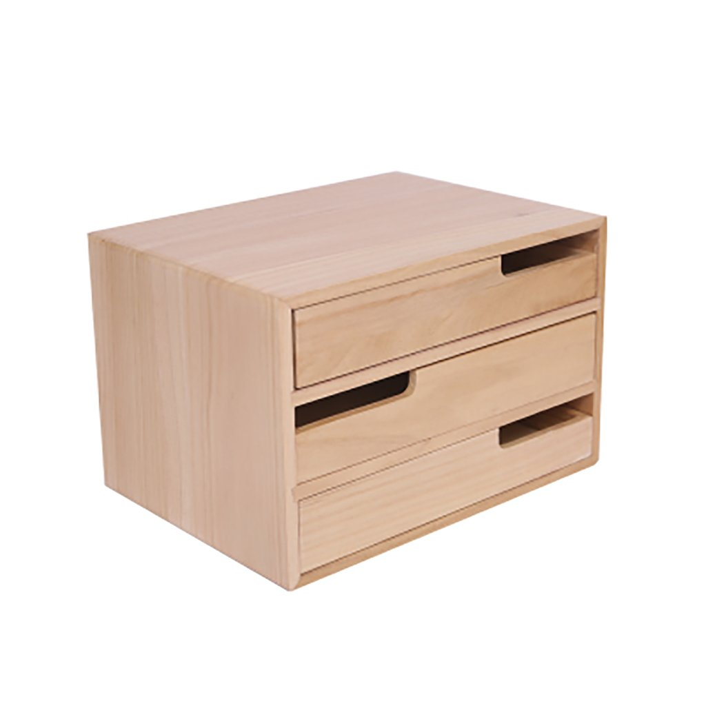 File Cabinet, Desktop Extended Drawer Office Organizer (Wood),Multiple Sizes (Size : 352623cm)