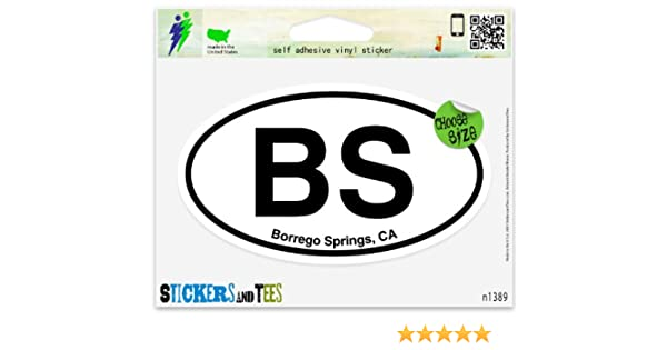 "O Oceanside California Oval car window bumper sticker decal 5/"" x 3/"""