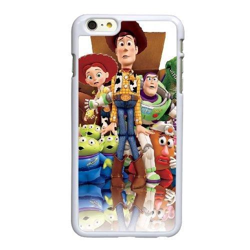 T7V83 Toy Story G0R7FY coque iPhone 6 Plus de 5,5 pouces cas de couverture de téléphone portable coque blanche KV6EBQ7KJ