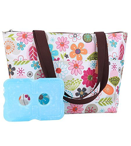 Lunch Bag&Ice Pack Lunch Box Slim Lunch Ice Packs Reusable Lunch Ice Pack,Non Toxic, Ice Packs Lunch Bags for Women Insulated Lunch Bags 1 Lunch Bags 1 Ice Pack (Lunch Box Ice Bag)