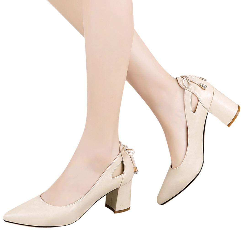 Zapatos de tacón de mujer, ❤️Sonnena Zapatos de tacón fino de moda de mujer Zapatos de tacones altos poco zapatos casuales para trabajar y jugar hogar y exterior