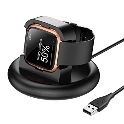 For Fitbit Versa 2 Versa Lite USB Charging Cable Replacement Charger Cradle