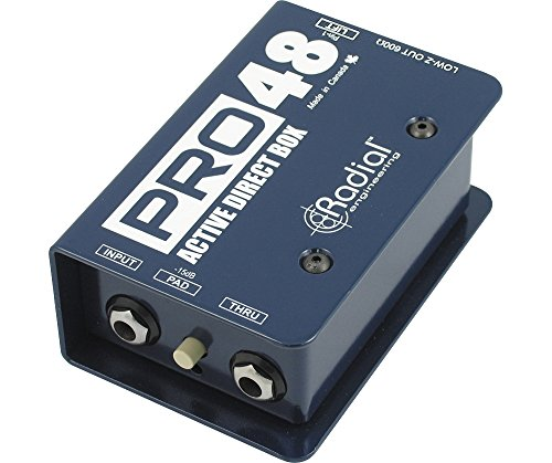 Active Di Box (Radial Pro48 Active 48-Volt Compact Direct Box)