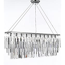 Chandelier with Empress Crystal (tm) Modern Contemporary Rain Drop Chandeliers Billiard Pool Table Light Lighting With Crystal Balls