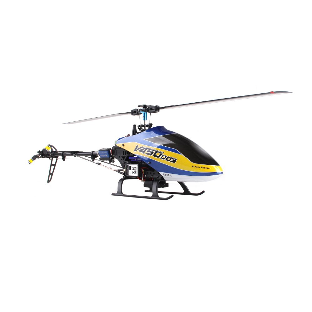 Walkera V450D03 6Ch RTF Heli w/ Devo7 Best Large RC Helicopter