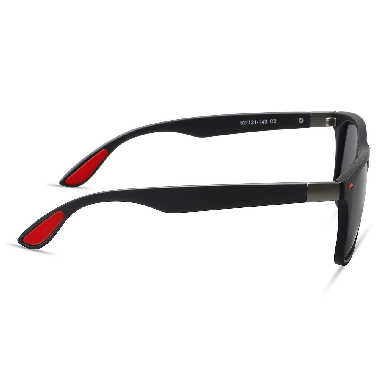 Maxjuli Polarized Sunglasses for Men Women F4195