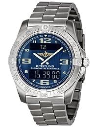 Breitling Men's E7936210/C787 Aerospace Titanium Digital Analog Watch