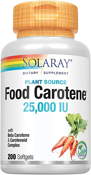 Top 10 Solaray Food Source Full Spectrum Carotene