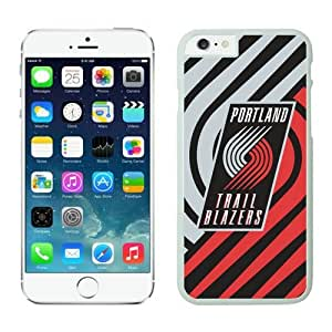iphone 6 covers,Case for iPhone 6 (4.7 Inch)-NBA portland trail blazers iPhone 6 Cases 5 White62937_59171