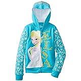 Disney Frozen Elsa Girls Zip-Up Hoodie Sweatshirt   4