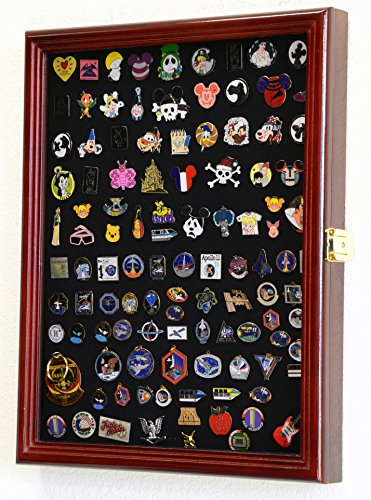 Pin display case cherry