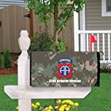 VictoryStore Outdoor Mailbox Cover - Military, 82nd Airborne Division, Magnetic Mailbox Cover