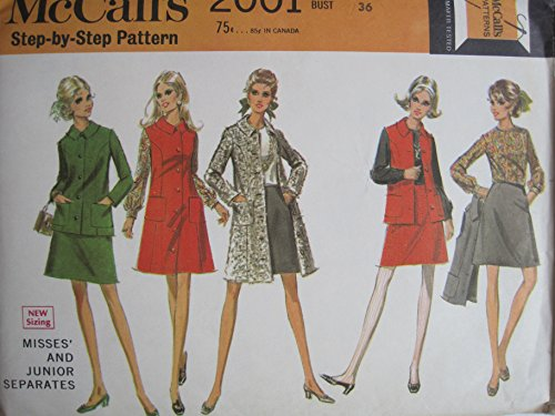 (McCall's Sewing Pattern 2001 Misses' Separates Size 14)