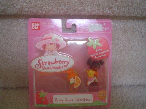 Berry Sweet Wearable Orange Blossom & Cute Keychain