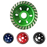 MonkeyJack 4 Pieces Mixed Colors Grinding Wheel Concrete Cup Disc Stone DIY Polishing High Speed