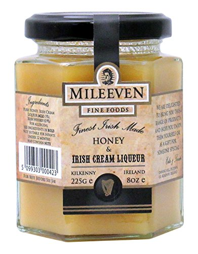 Mileeven Honey & Irish Cream Liqueur, 8 Ounce