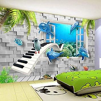 . Amazon com  Pbldb Hd Modern Underwater World Children s Room 3D