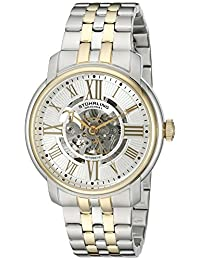 Stuhrling Original Men's 812.04 Atrium Analog Display Automatic Self Wind Two Tone Watch