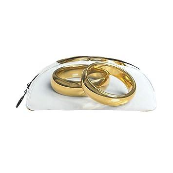 Montoj - Estuche organizador para anillos de boda, color ...