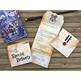 Harry Potter Party Invitation - 15 cards - Hogwarts Letter - Harry Potter Birthday Invitation
