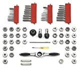 GearWrench 3887 Tap and Die 75 Piece Set - Combination SAE/Metric