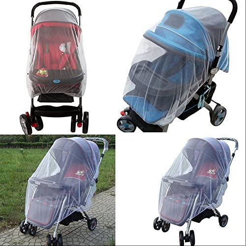 Baby Stroller Mosquito Net Cover Carriage Kid Foldable Kids Mosquito Netting White Alisy Mosquito Nets for Cribs for Babies