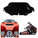 Motorcycle Windscreen Windshield for Harley Electra Street Glide Touring Bike 1996-2013 (Dark Smoked Black)