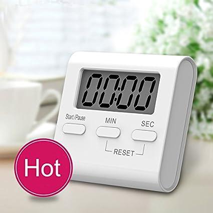 XMDirect Temporizador Cocina Digital Magnetico [100 minutos ...