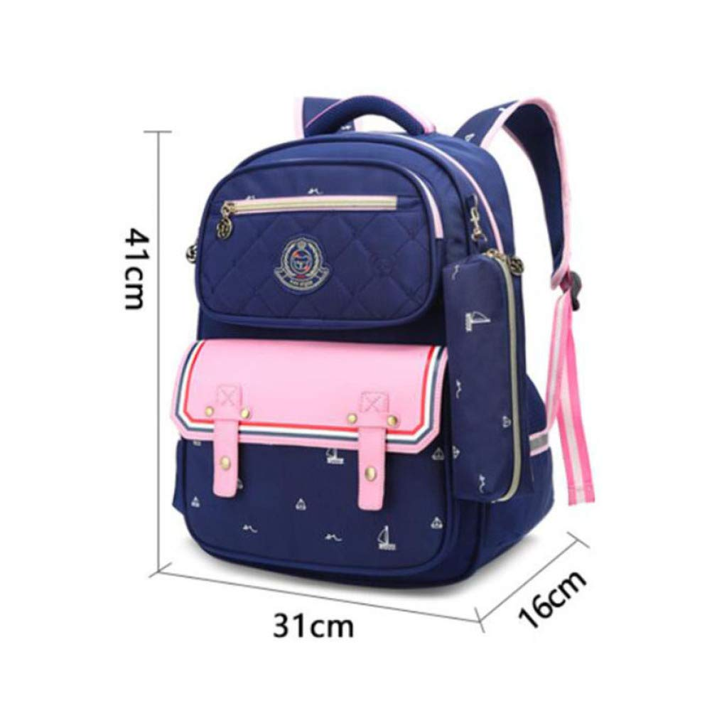 BAAFG Mens Backpack Fashion Casual Mens Outdoor Travel Bag Waterproof Backpack Blue,Blue-OneSize