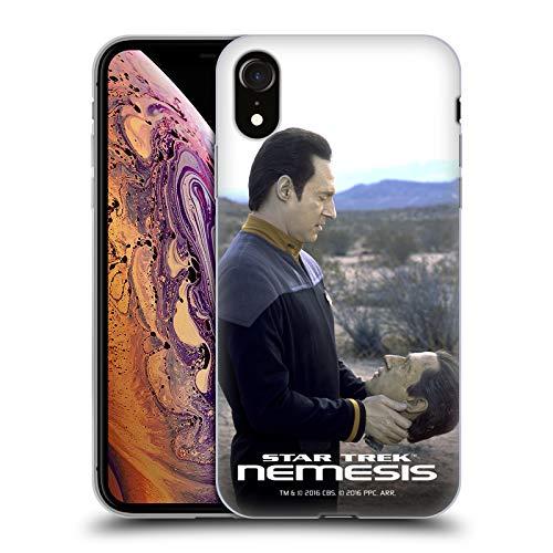 Official Star Trek Talking to B-4 Data Nemesis TNG Soft Gel Case Compatible for iPhone XR (Star Trek Iphone 4 Case)