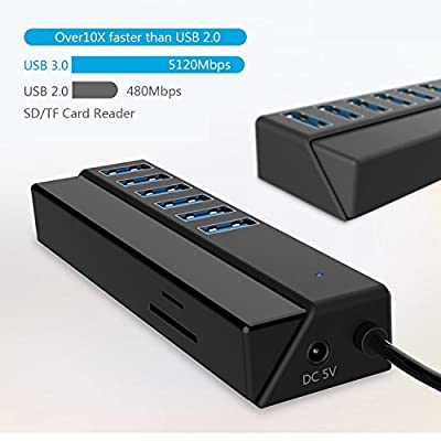 Usb Hub With Card Reader