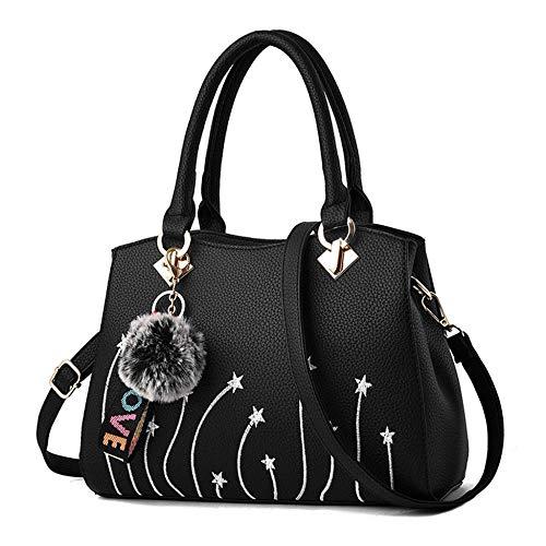 Borse Borsa Di Per Donna Donne Le Kaidila Black Americano Stile Crossbody Nuovo Moda Bag Corpo Spalla Croce Ricamo qzdPdxBn7