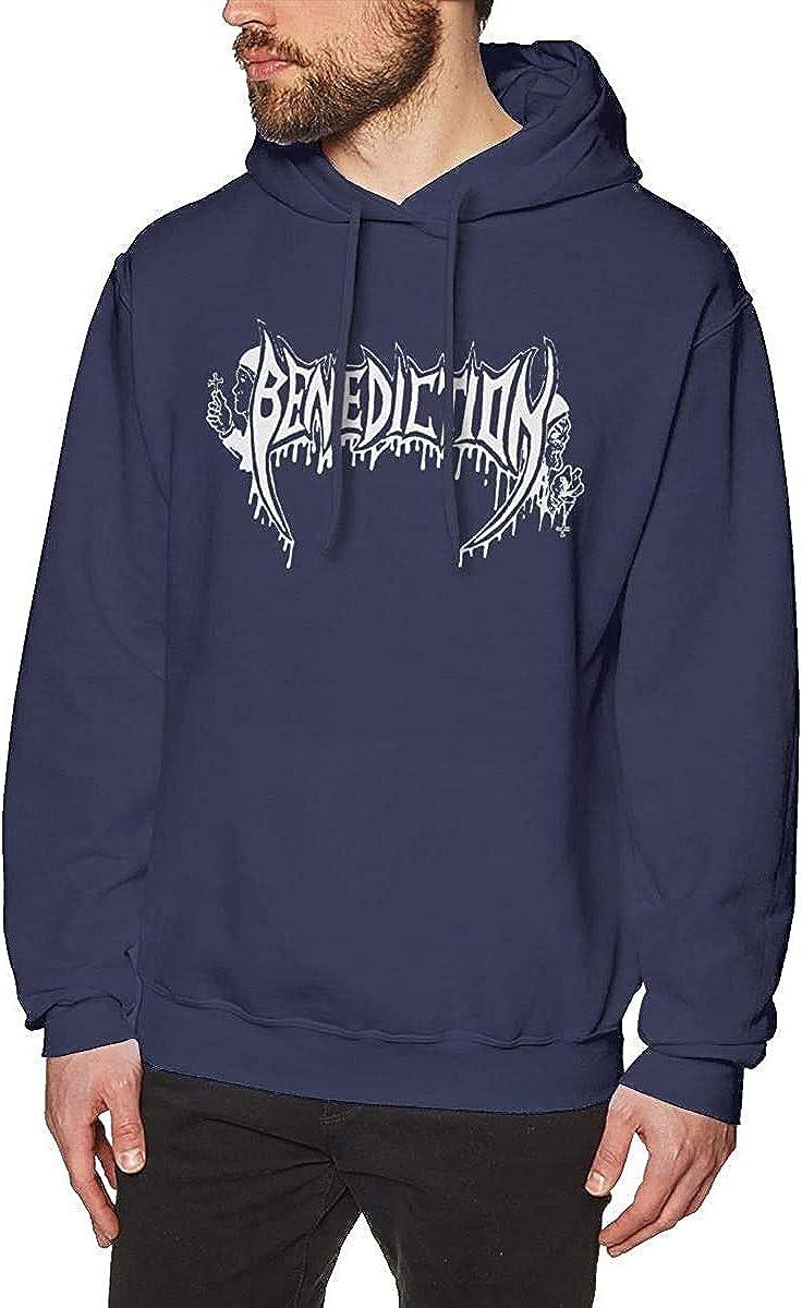 FAIDmen Benediction Music Joker Hoodie Sweatshirt Navy Sweater Sport Pullovers Winter Long Sleeve Hoodies