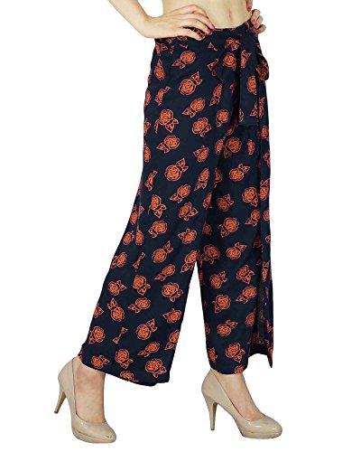 Phagun Floral Hippie Gypsy Harem Aladdin Yoga Sarouel Pantalons pour femmes indiennes