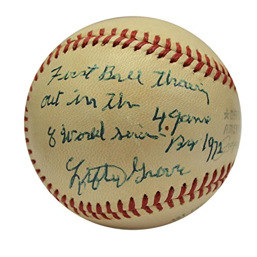 Perfect Game Silver Coin - Lefty Grove Single Signed Baseball.