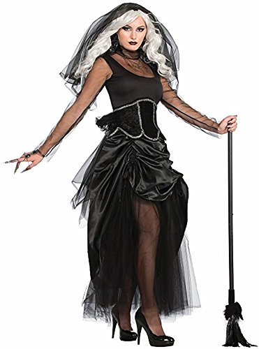 Forum Women's Shadow Ghost Costume, Multi, One (Sexy Ghost Costumes)