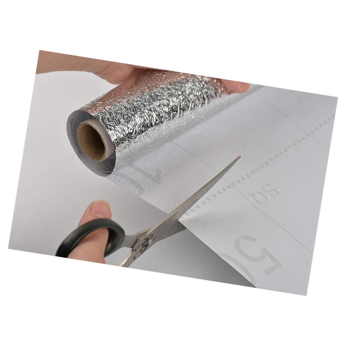 KEYkey 1Pcs Cucina Adesivi Anti grassa Decal Sticker Rimovibile Impermeabile mattonelle Decalcomania della Parete per Wallpaper Home Decor Fai da Te