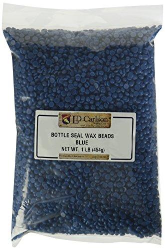 Wax Seal Bottles - Bottle Seal Wax Beads, Blue 1 LB