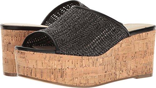 Charles by Charles David Women's Crisp Black Basket Woven Sandal