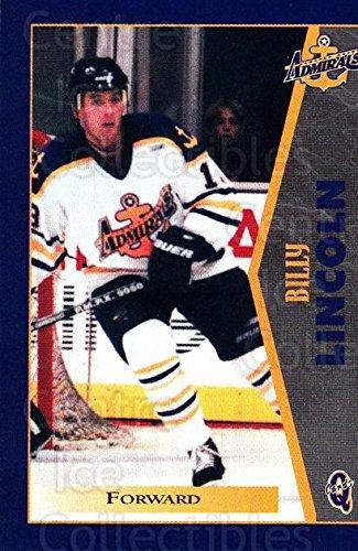 (CI) Bill Lincoln Hockey Card 1997-98 Hampton Roads Admirals 12 Bill - Shop Lincoln The Road