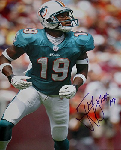 Autographed Ted Ginn, Jr. Miami Dolphins 16x20 Photo