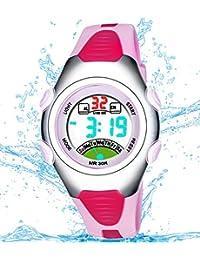 Girls Digital Watch, Kids Waterproof Sports Watch with...