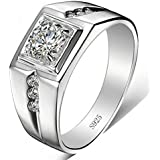 DC Jewels .925 Sterling Silver Ring for Men