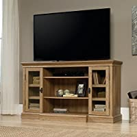 Sauder 419118 Entertainment Center, Credenza Fireplace