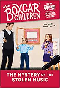 The Mystery of the Stolen Music (The Boxcar Children Mysteries)