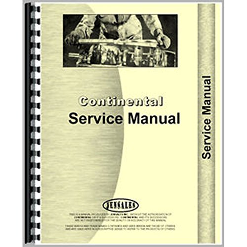 Engine Service Manual For Continental (L-Head) N56 for sale  Delivered anywhere in USA