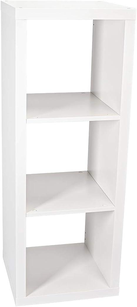 Unbekannt IKEA Kallax - Estantería (42 x 112 cm), color blanco